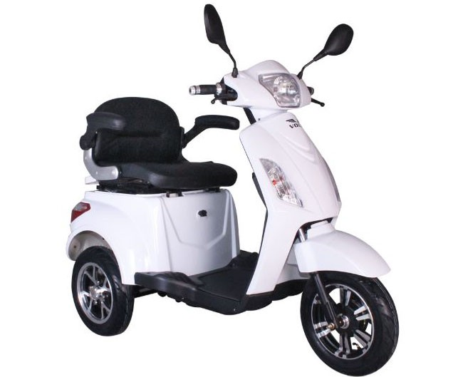 Tricicleta electrica Volta VM4 - alb