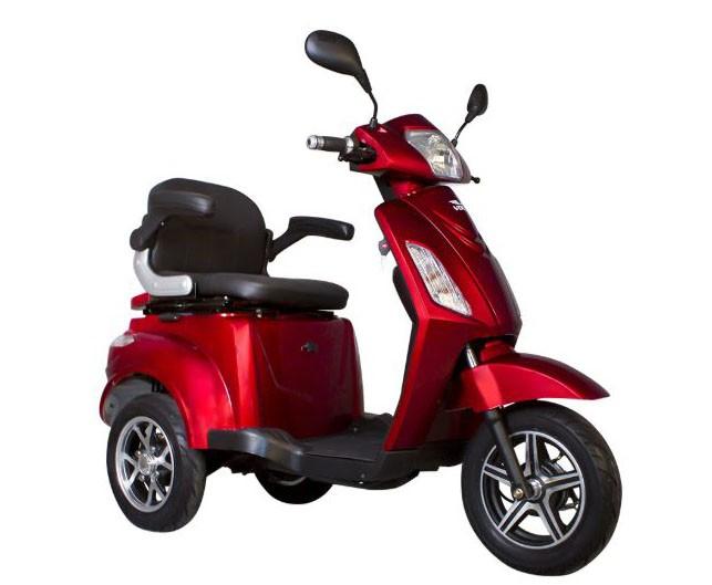 Tricicleta electrica Volta VM4 - rosu