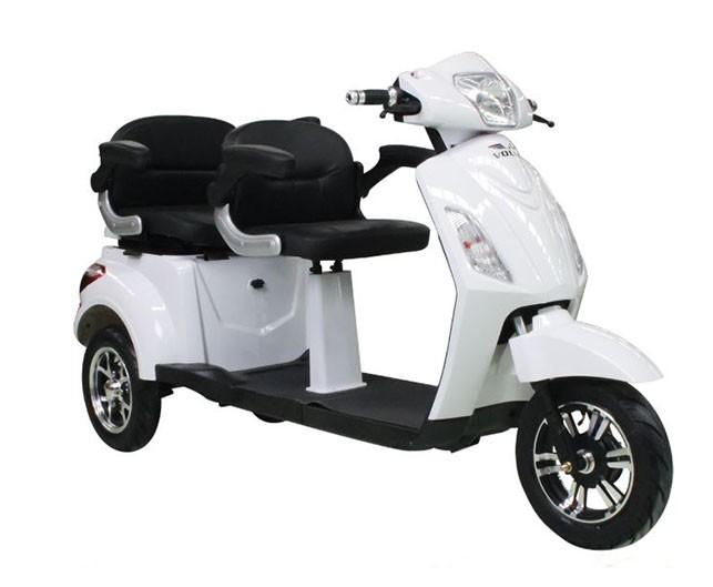 Tricicleta electrica Volta VM4 Plus - alb