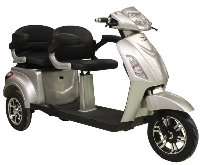 Tricicleta electrica Volta VM4 Plus - gri