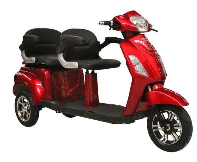 Tricicleta electrica Volta VM4 Plus - rosu