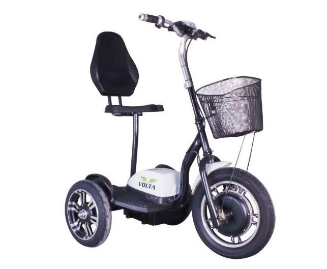 Tricicleta electrica Volta VT3 - alb